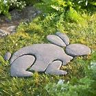 Decorative Stones Rabbit Garden Accent