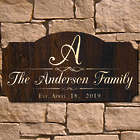 Personalized Family Name Mulheren Wall Sign