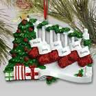 Personalized Staircase with Stockings Ornament