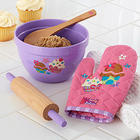 Cupcake Kid's Kitchen Baking Set