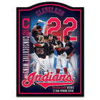 Cleveland Indians 2017 22-Game Winning Streak Wall Plaque