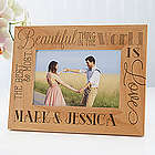 Romantic Personalized Picture Frame