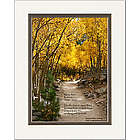 Personalized Memorial Aspen Path Print