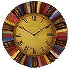 Vintage Rainbow Wall Clock