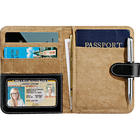 Personalized Faux Leather Passport ID & Card Holder