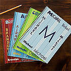 Personalized Name Notebooks for Boys