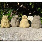 Meditating Animal Garden Sculptures