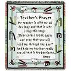 Teacher's Prayer Throw