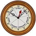 Contemporary Day Clock
