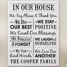 Personalized We Count Our Blessings Canvas Print