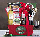Merry Christmas Napa and Sonoma Wine Gift Basket