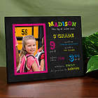 Personalized Her First Day of School Frame