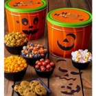 Halloween Snacks and Sweets in Magnetic Pumpkin Gift Tin