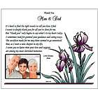 Thanks to Parents Wedding Poem Print