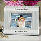 Personalized Striped Mini Frame Wedding Favor