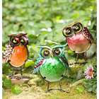 Glass Garden Owls