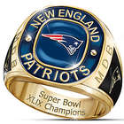 New England Patriots Super Bowl XLIX Personalized Ring