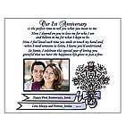 First Anniversary Personalized Poem