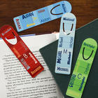 Personalized Name Bookmarks for Boys