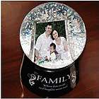Family Digital Photo Snow Globe