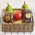 Simply Fresh Fruit, Pretzels and Nuts Gift Basket