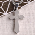 Classic Cross Engraved Necklace