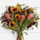 Velvet Sunflower Protea Bunch Bouquet