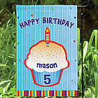 Happy Birthday Personalized Garden Flag