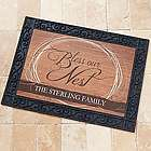 Bless Our Nest Personalized Doormat