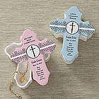 Personalized God Bless Cross Trinket Box