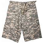 ACU Digital Camo Extra-Long BDU Shorts