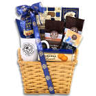 Coffee Bean & Tea Leaf with Mug Festive Wicker Gift Basket