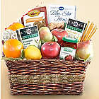 Organic Tea and Fruit Basket