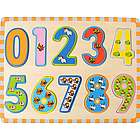 Animal Themed Wooden Numbers Puzzle