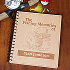 Personalized Fishing Memories Photo Album