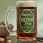 Personalized Premium Irish Pub Beer Mug