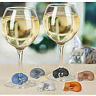 Wine Lives Kitty Wine Charms