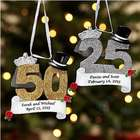 Special Anniversary Personalized Ornament