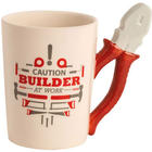 Handyman Tool Mug with Pliers Handle
