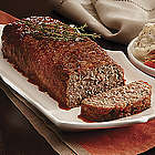 Gourmet Meatloaf with Bacon and Mushrooms