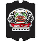 Pit Stop Design Vintage Racing Sign