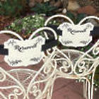 Reserved Chair Wedding Decorations
