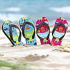 Personalized Joyful Jellyfish Flip-Flops