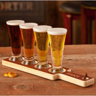 Personalized Handcrafted Beer Flight with Pilsner Glasses