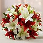14-Stem Holiday Lily Bouquet