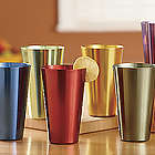 Set of Aluminum Tumblers