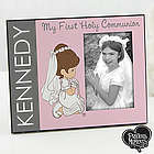 Personalized Precious Moments My First Communion Picture Frame