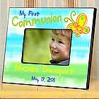 Sunshine and Butterflies Personalized First Communion Frame