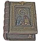 Christ The Teacher Bronzed Styled Box