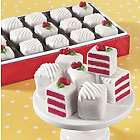 24 Red Velvet Petits Fours Gift Box